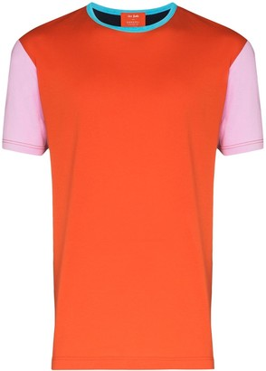 Sunspel X John Booth colour block panel T-shirt