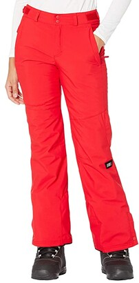 O'Neill Star Insulated Pants (Fiery Red) Women's Casual Pants