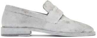 Maison Margiela White Tabi Advocate Loafers