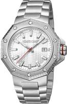 Roberto Cavalli Watches Men's Stainless Steel Date Watch, 43mm