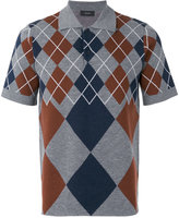 Joseph Argyle knit polo shirt - men - Wool - L