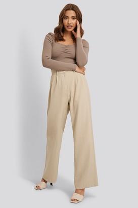 Buonalima X NA-KD High Waisted Suit Pants