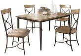 Hillsdale Furniture Charleston X-Back 5-pc. Dining Set