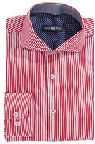 Stone Rose Striped Egyptian Cotton Dress Shirt