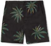 Wacko Maria - Palms Printed Voile Shorts