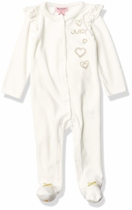 Juicy Couture Girls' Coverall Pants Set