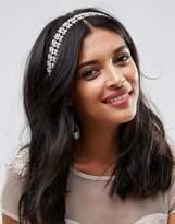Johnny Loves Rosie Bridal Blush Diamante Multiwear Ribbon