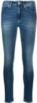 Dondup denim high rise skinny jeans