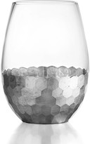Jay Import Daphne Silver Stemless Glasses - Set of 4