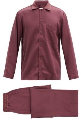 CDLP Satin Pyjama Set - Burgundy