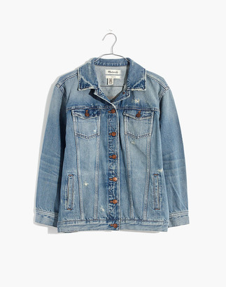 Madewell The Oversized Jean Jacket in Westend Wash