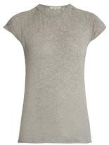 Nili Lotan Baseball cotton jersey T-shirt