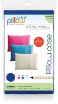 """My First Set of Two Pillow Cases for Kids Pillows Sized 16"""" x 20"""", Blue"""