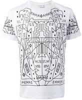 Marcelo Burlon County of Milan Salmoman T-shirt - men - Cotton - XS
