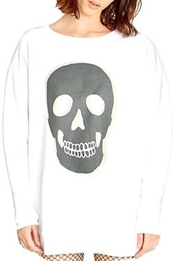 Wildfox Couture Roadtrip Skull Sweatshirt