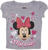 Minnie Mouse Hearts Toddlers Girls T-Shirt