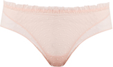 La Perla Plumetis tulle boy-short briefs