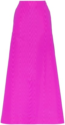 Taller Marmo Iconica silk maxi skirt