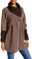 Luma Wool Blend Sweater Coat