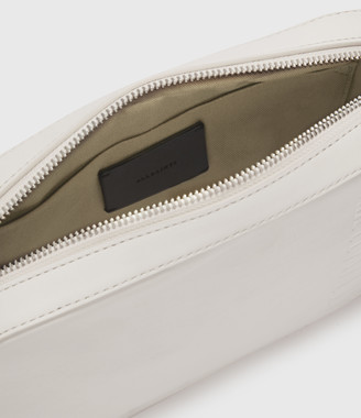 AllSaints Rhoda Square Leather Crossbody Bag