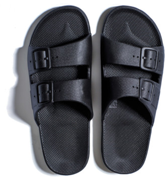 Freedom Moses Slippers Black - 40/41 - 6,5/7 - Women10/10,5 or Men8/8,5