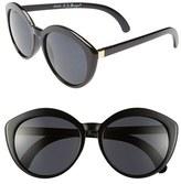 A. J. Morgan A.J. Morgan 'Greta' 57mm Retro Sunglasses