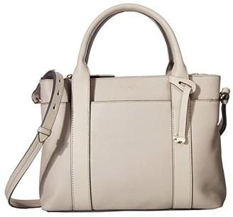 Radley London Maples Place - Medium Zip Top Multiway (Dove Grey) Satchel Handbags