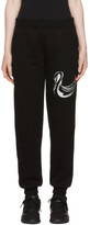 Cottweiler Black Wetland Swan Lounge Pants