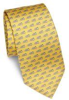 Salvatore Ferragamo Speedboat Silk Tie