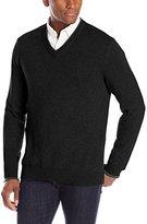 Oxford NY Men's Tipped V-Neck Sweater