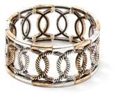 Penningtons Two-Toned Stretch Bracelet