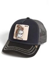 Goorin Bros. Men's Brothers 'Animal Farm - Squirrel Master' Snapback Trucker Hat - Blue