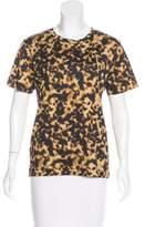 Barbara Bui Jersey Short Sleeve Top