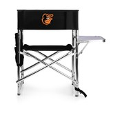 Picnic Time Baltimore Orioles Sports Side Table Chair