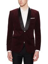 Hopper Shawl Collar Velvet Tuxedo jacket