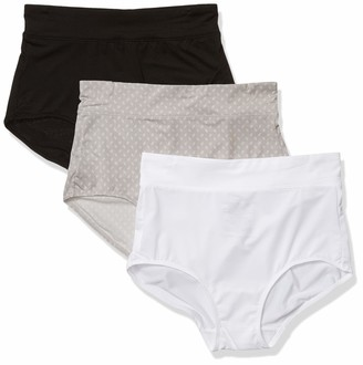 Warner's Warners Women's No Pinching No Problems 3 Pack Micro Brief Tailored Panties