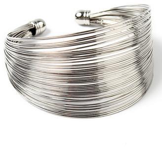 Amrita Singh Women's Bracelets Silver - Silvertone Kara Cuff