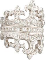 Loree Rodkin Diamond Double Crown Ring