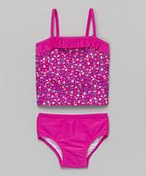 KensieGirl Pink Floral Tankini - Toddler & Girls