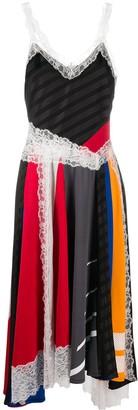 Koché Panelled Midi Dress