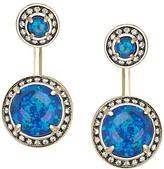 Kendra Scott Camilla Ear Jackets in Blue Kyocera Opal