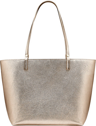 GiGi New York Tori Metallic Leather Tote Bag