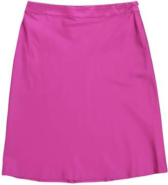 Jil Sander Purple Silk Skirts