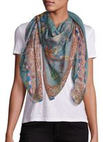 Etro Bombay Floral Cashmere & Silk Scarf