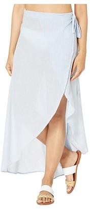 Onia Amanda Wrap Skirt (Blue Bell) Women's Skirt
