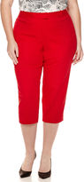 Liz Claiborne Emma Ankle Pants - Plus