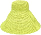Jacquemus oversized woven hat