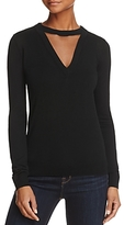 Bailey 44 Chivalry Cutout Merino Wool Sweater