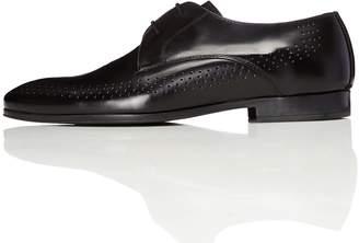 Find. find. Men's Formal Lace-Up Pointed Shoes Black (Black) 11 UK (46 EU)