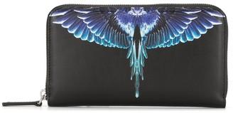 Marcelo Burlon County of Milan Wings zipped wallet